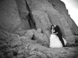 małżeństwo na tle skał