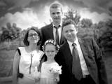 zdjęcie komunijne rodziny