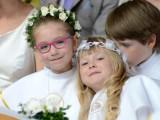 dzieci na komunii świętej