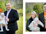 matka i ojciec na chrzcie córki