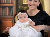 matka z dzieckiem, chrzest