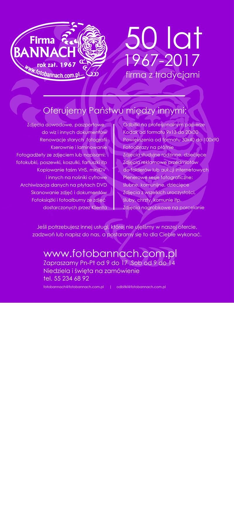 firma bannach - oferta